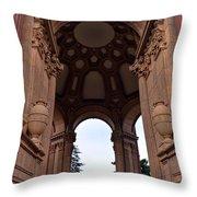 Palace Of Fine Arts -2 Throw Pillow