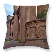 Palace Of Fine Arts -3 Throw Pillow