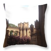 Palace Of Fine Arts 8 Throw Pillow