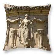 Palace Of Fine Arts Relief San Francisco Throw Pillow