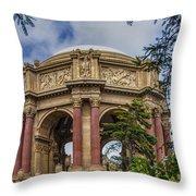 Palace Of Fine Arts - San Francisco California Throw Pillow