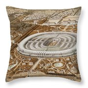 Palace Of The Universal Exhibition In Paris Throw Pillow