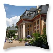 Palace Pillnitz - Germany Throw Pillow