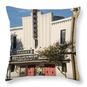 Palace Theater --- Georgetown Texas  Throw Pillow