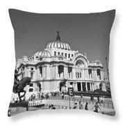Palacio De Bellas Artes Throw Pillow