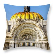 Palacio De Bellas Artes Throw Pillow