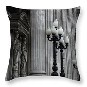 Palacio Del Congreso Argentina Throw Pillow