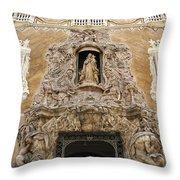 Palacio Del Marques De Dos Aguas Throw Pillow