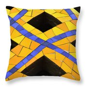 Palau Guell Chimney Throw Pillow