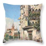 Palazzo Contarini Throw Pillow