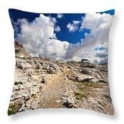 Pale Di San Martino Plateau Throw Pillow