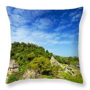 Palenque View Throw Pillow