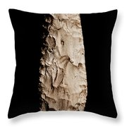 Paleolithic Tool 2 No Text Throw Pillow