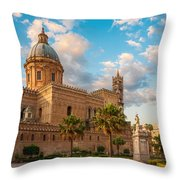 Palermo Cathedral Throw Pillow