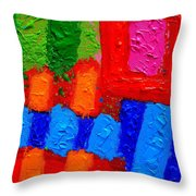 Palimpsest Xiv Throw Pillow