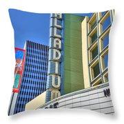 Palladium Hollywood Ca World-class Entertainment Throw Pillow