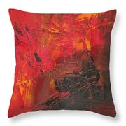Palette Knife Series 02 Throw Pillow