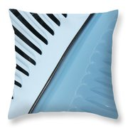 Palm Frond 1934 Vicky Style Throw Pillow