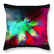 Palm Prints Throw Pillow