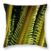 Palm Reading Throw Pillow