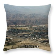 Palm Springs International Airport Throw Pillow