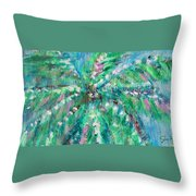 Palm Tree By Jan Marvin Throw Pillow