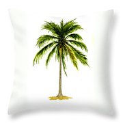 Palm Tree Number 2 Throw Pillow