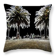 Black Out Throw Pillow