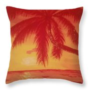 Palmas Throw Pillow