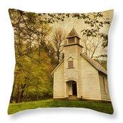 Palmer Chapel Throw Pillow