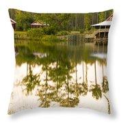 Palmetto Bluff South Carolina Throw Pillow