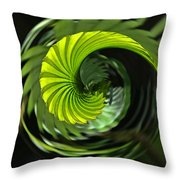 Palmetto Nautilus Throw Pillow