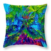 Palmetto Number 3 Throw Pillow