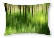 Palmetto Spring Throw Pillow