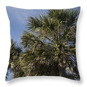 Palmetto Throw Pillow