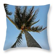 Palms Over My Head Throw Pillow