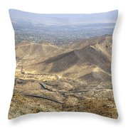 Palms To Pines Throw Pillow