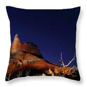 Palo Duro Canyon 2am-114844 Throw Pillow