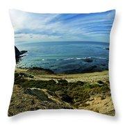 Palos Verdes California  Throw Pillow