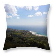 Palos Verdes Peninsula Throw Pillow