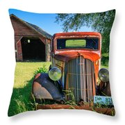 Palouse Dodge Throw Pillow