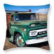 Palouse Gmc Truck Throw Pillow