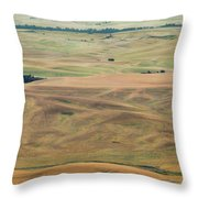 Palouse Palate Throw Pillow