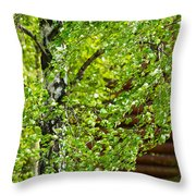 Palpitation - Featured 3 Throw Pillow