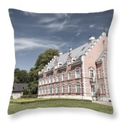 Palsjo Slott In Helsingborg Evening Throw Pillow