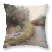 Paluxy River Afternoon Throw Pillow