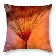 Pampas Grass - II Throw Pillow