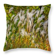 Pampas Grass Throw Pillow