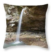 Pam's Grotto Throw Pillow