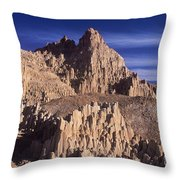 Panaca Sandstone Formations Cathedral Gorge State Park Nevada Throw Pillow